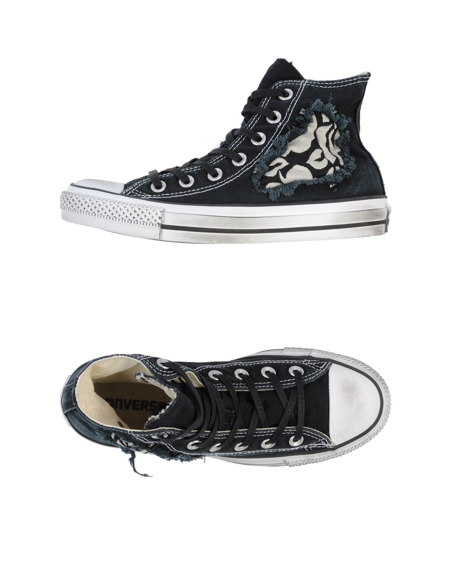 how to clean high tops converse