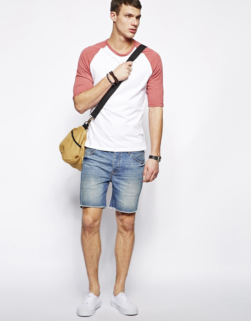 15 Mens Denim Shorts Outfit To Slay The Summer Look Fashionterest