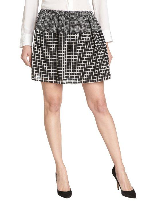 Pleated Black Mini Skirt 10