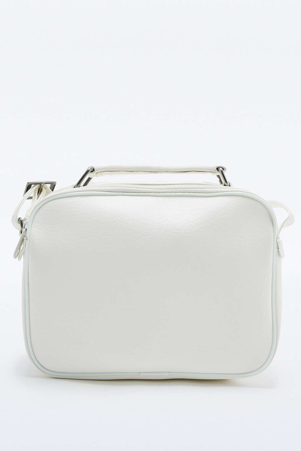 b64e32116041 adidas Originals Mini White Airliner Bag in White - Lyst