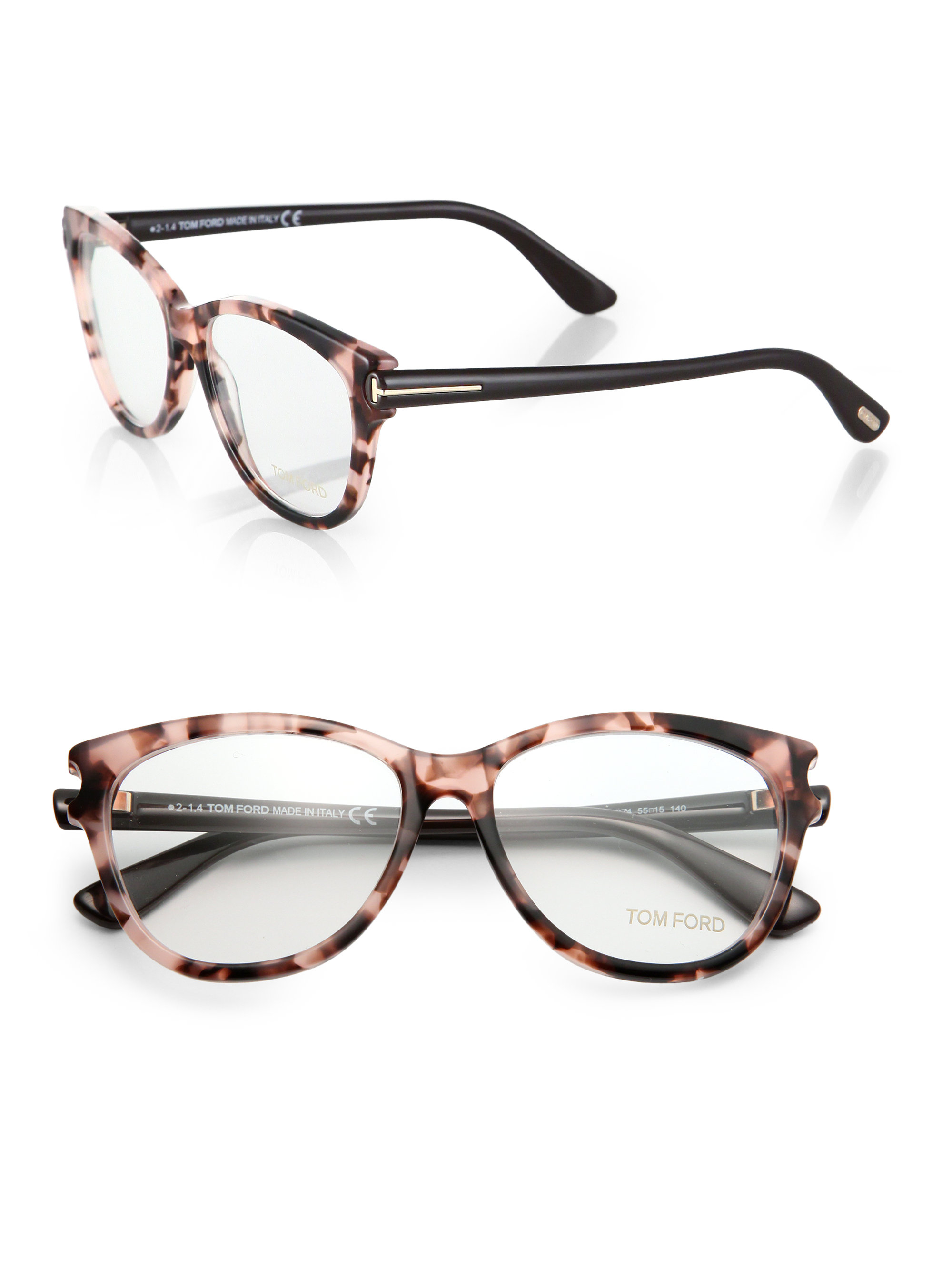 Lyst Tom Ford Butterfly Optical Glasses In Pink