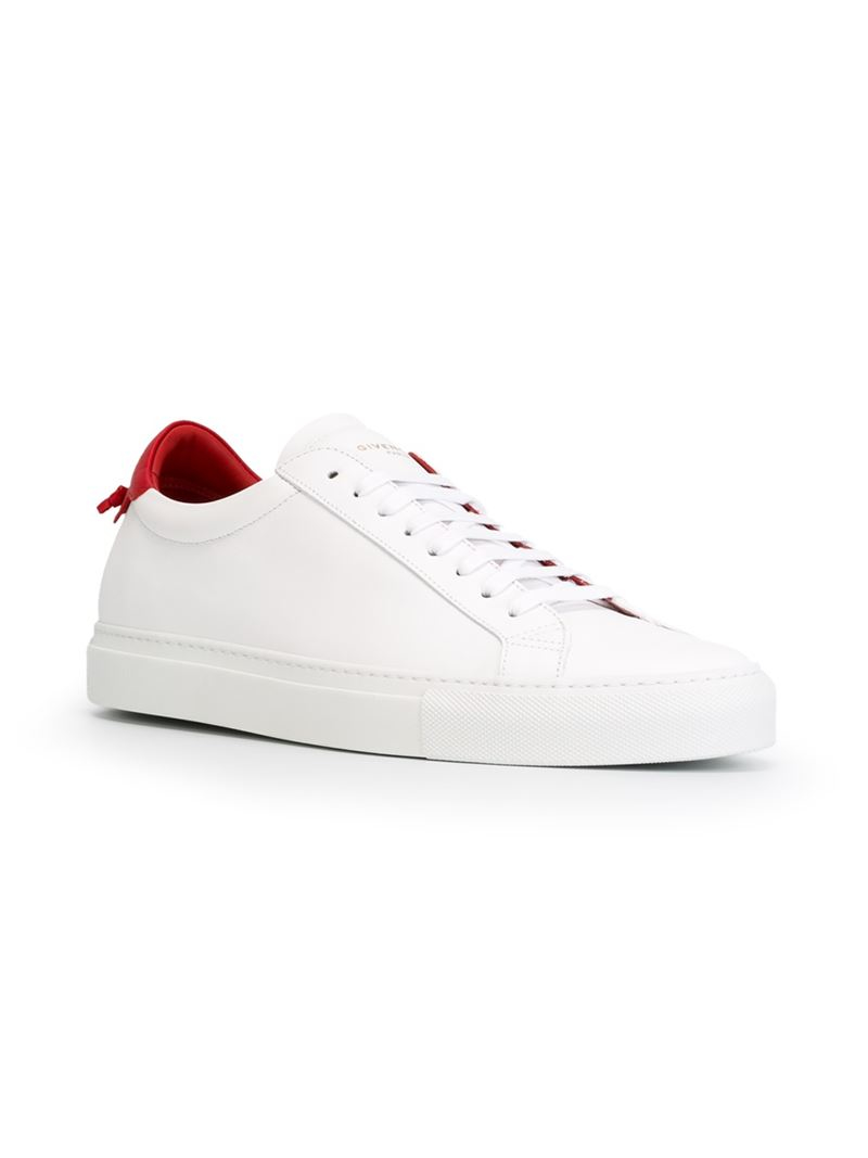 4fc00f535c8 Lyst - Givenchy Classic Leather Low-Top Sneakers in White for Men