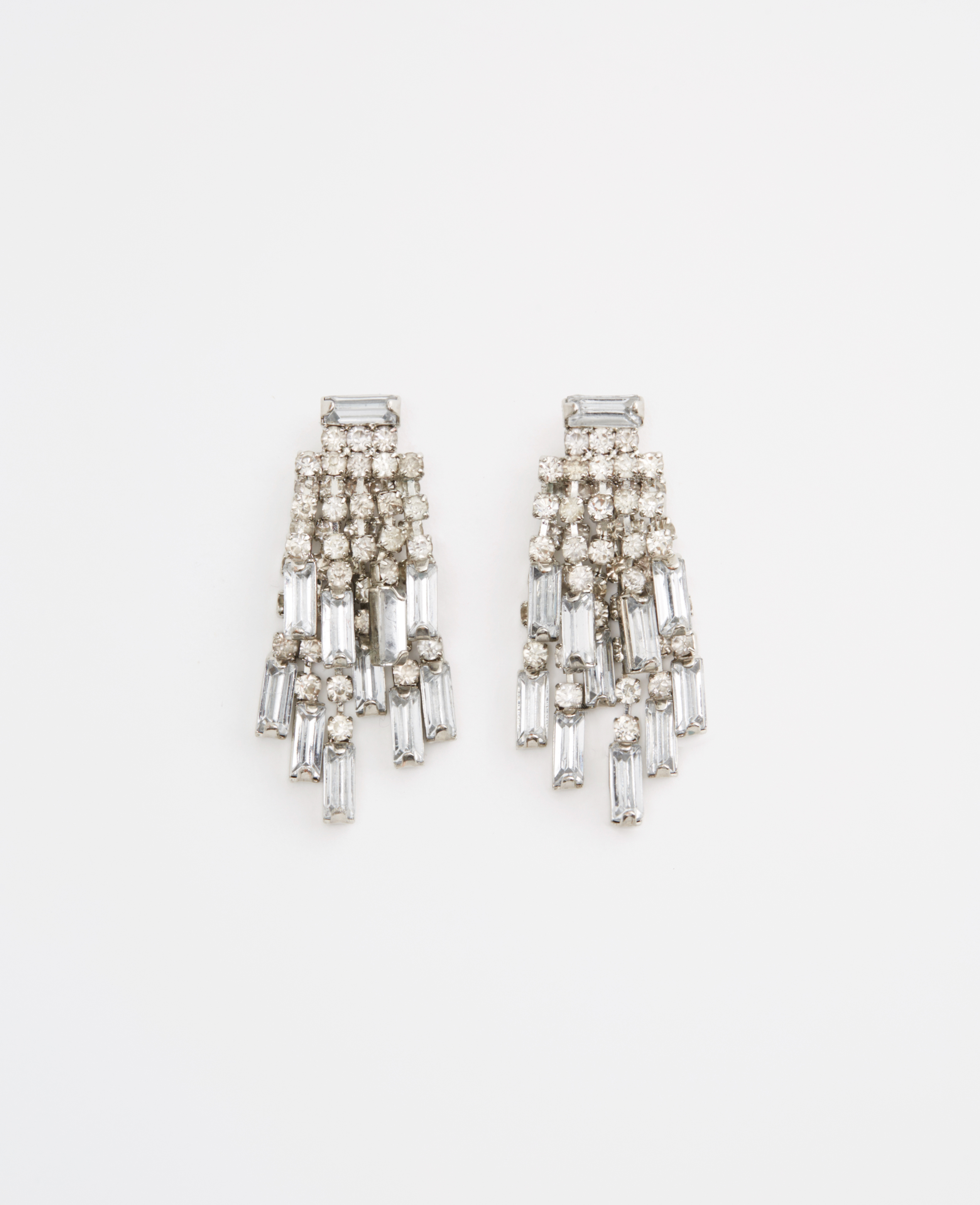 stud diamondbaguette x earring baguette ef collection diamond products earrings wg