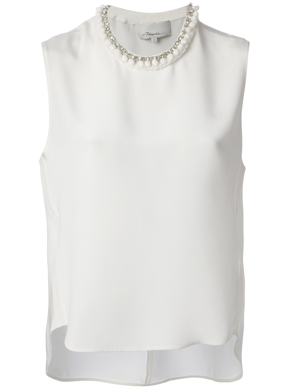 pleated V-neck blouse - White 3.1 Phillip Lim For Sale Very Cheap DKMBSDyD