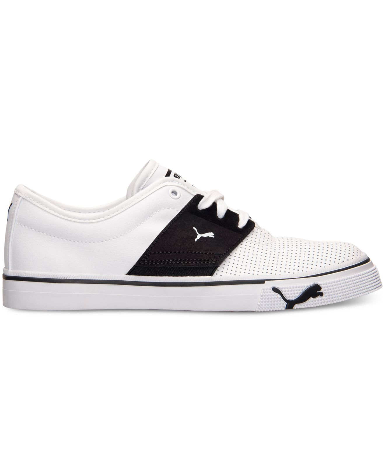 ... spain lyst puma mens el ace casual sneakers from finish line in white  5cfdf 6859f ed972d287