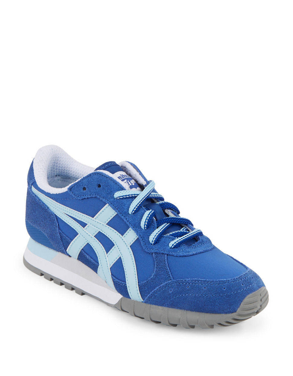 asics colorado lace up sneakers in blue for men lyst. Black Bedroom Furniture Sets. Home Design Ideas