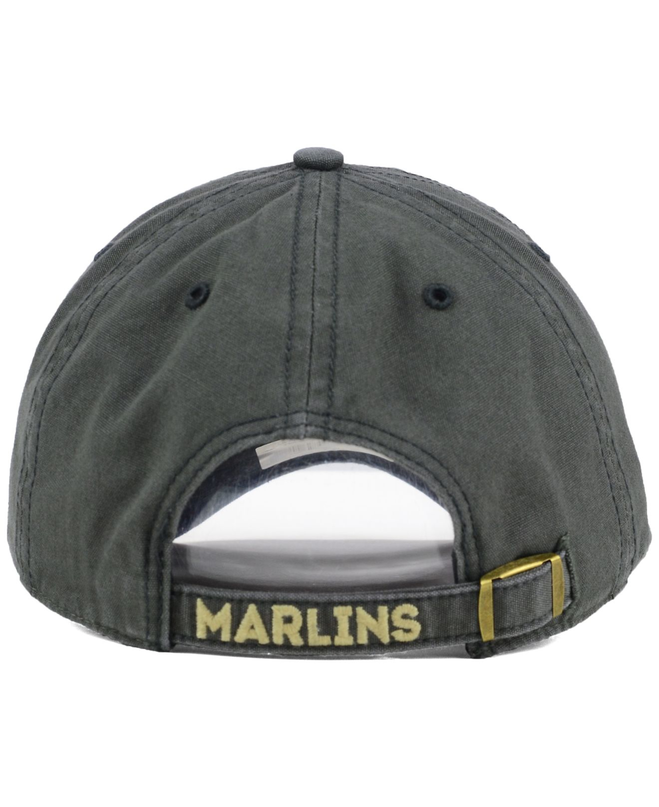 4b2118a17ca03 ... amazon lyst 47 brand miami marlins stillwater clean up cap in gray for  men 32d25 1a853