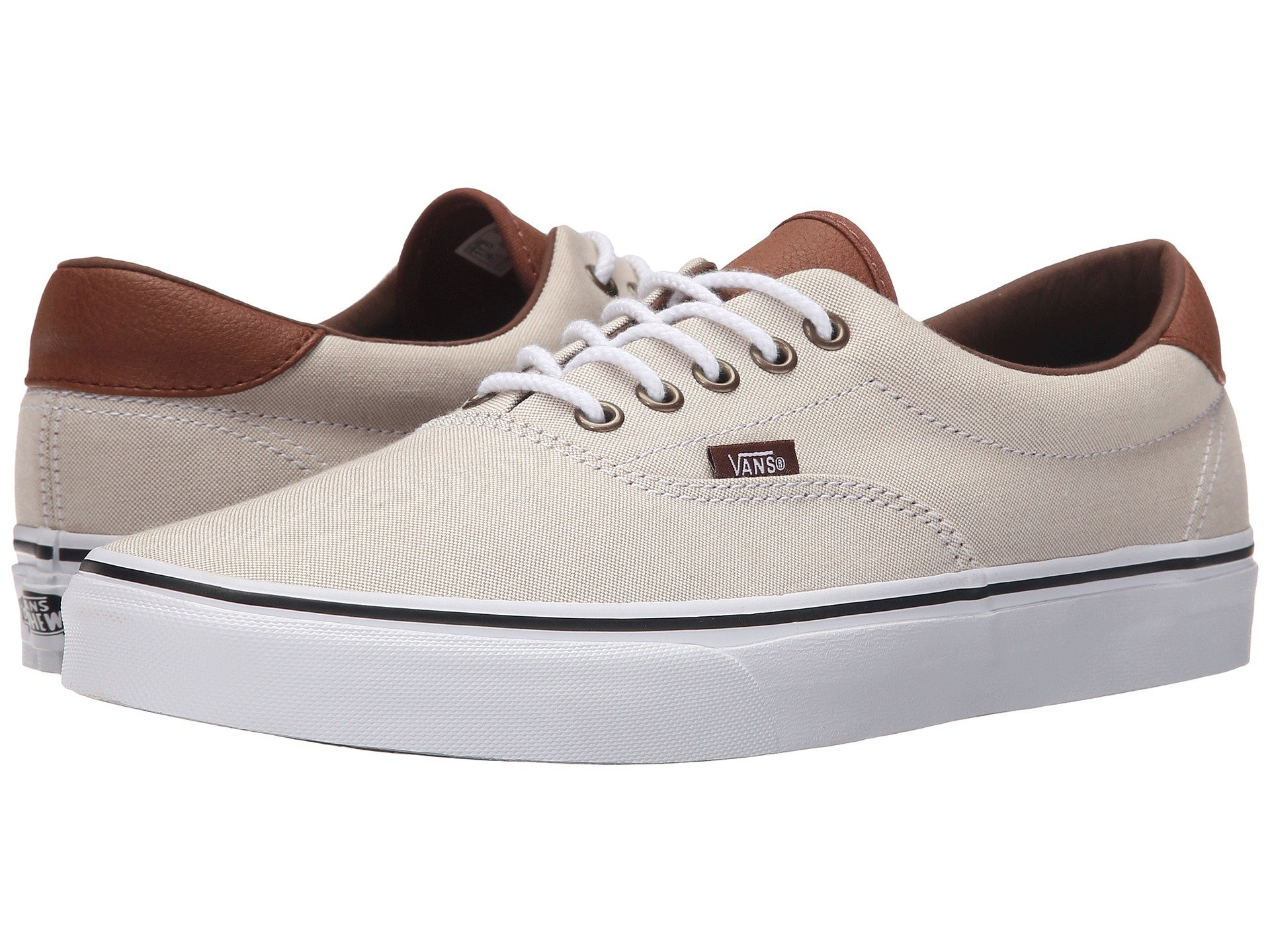 Lyst - Vans Era 59 in Natural for Men d8fcab89323f