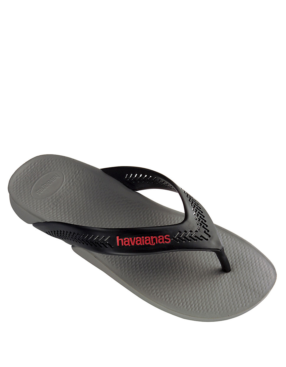 b4c87c3f8010ce Havaianas Wide Rubber Thong Sandals in Gray for Men - Lyst