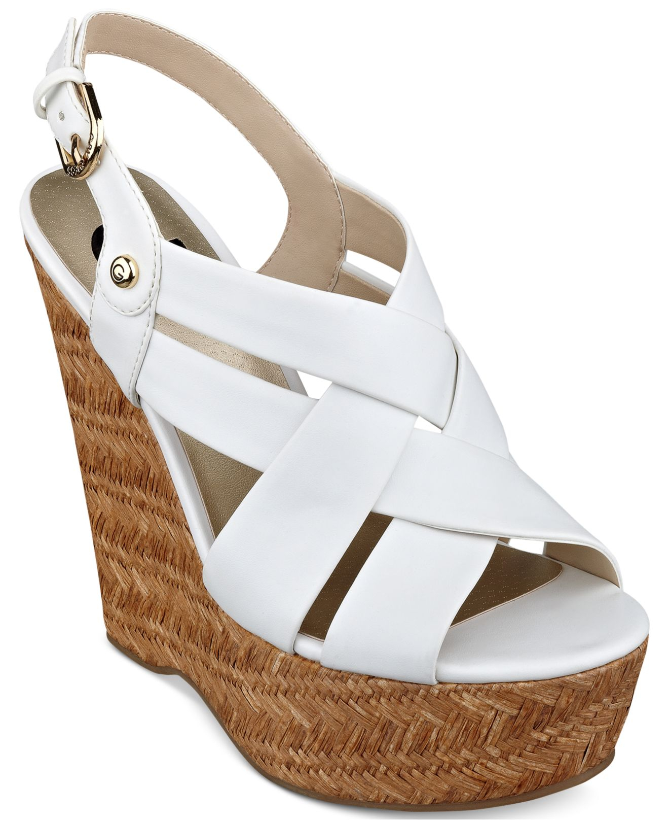 c2e041593556 Gallery. Previously sold at  Macy s · Women s White Platform Wedges ...