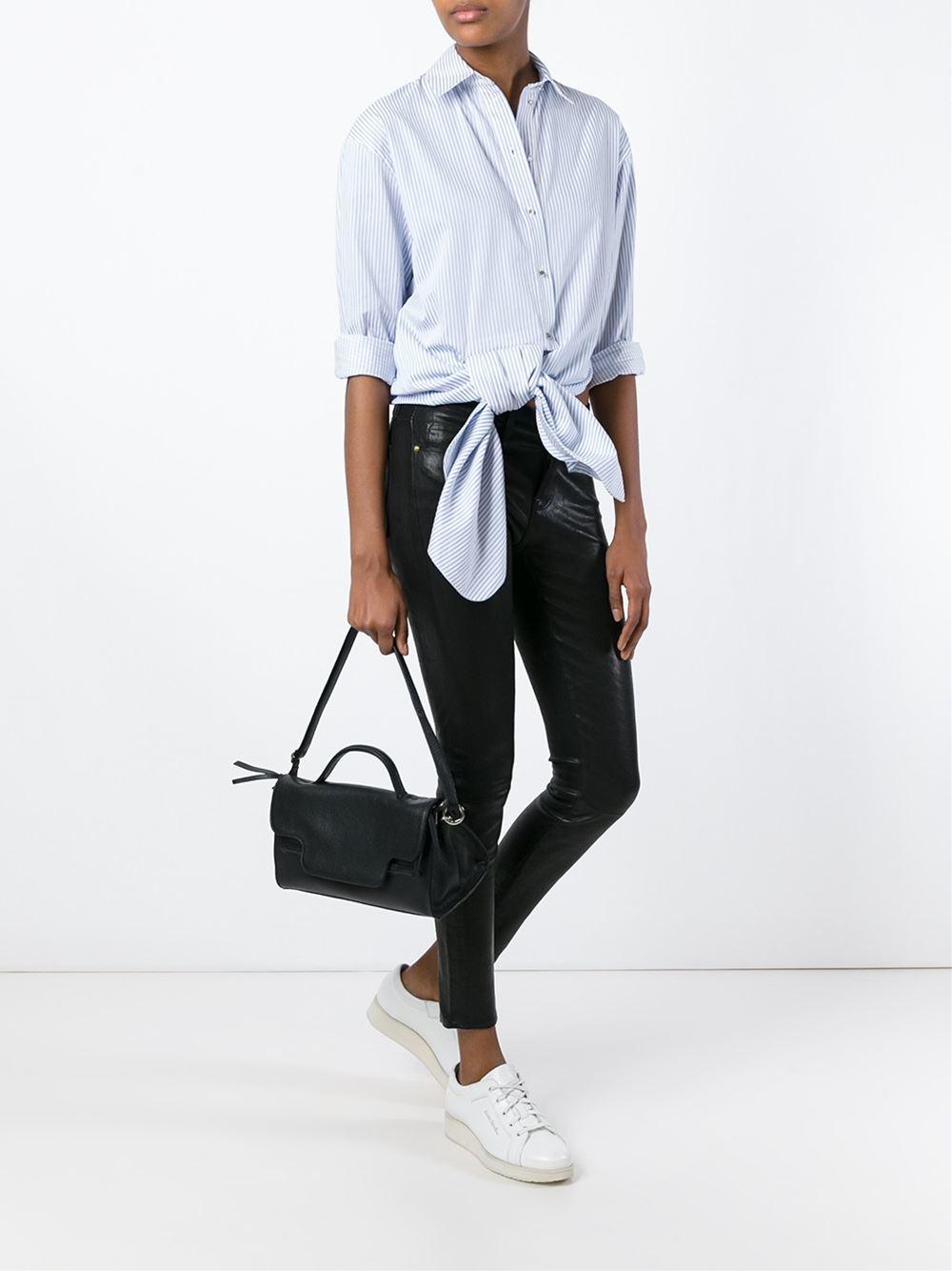 medium Nina Zanellato bag - Black Zanellato HqF9M5Y