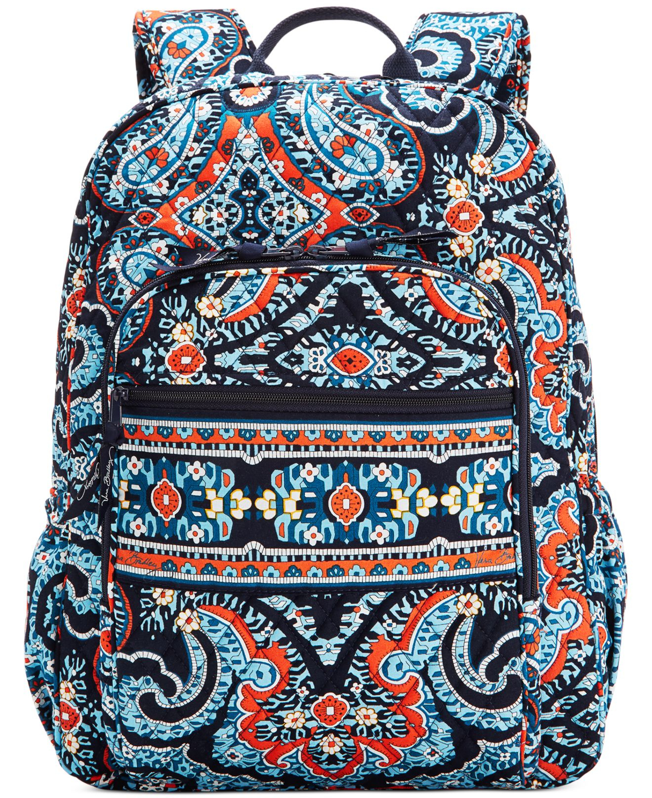 5ec59a2742 Lyst - Vera Bradley Campus Backpack in Blue