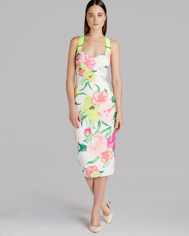 Baker Floral Dress