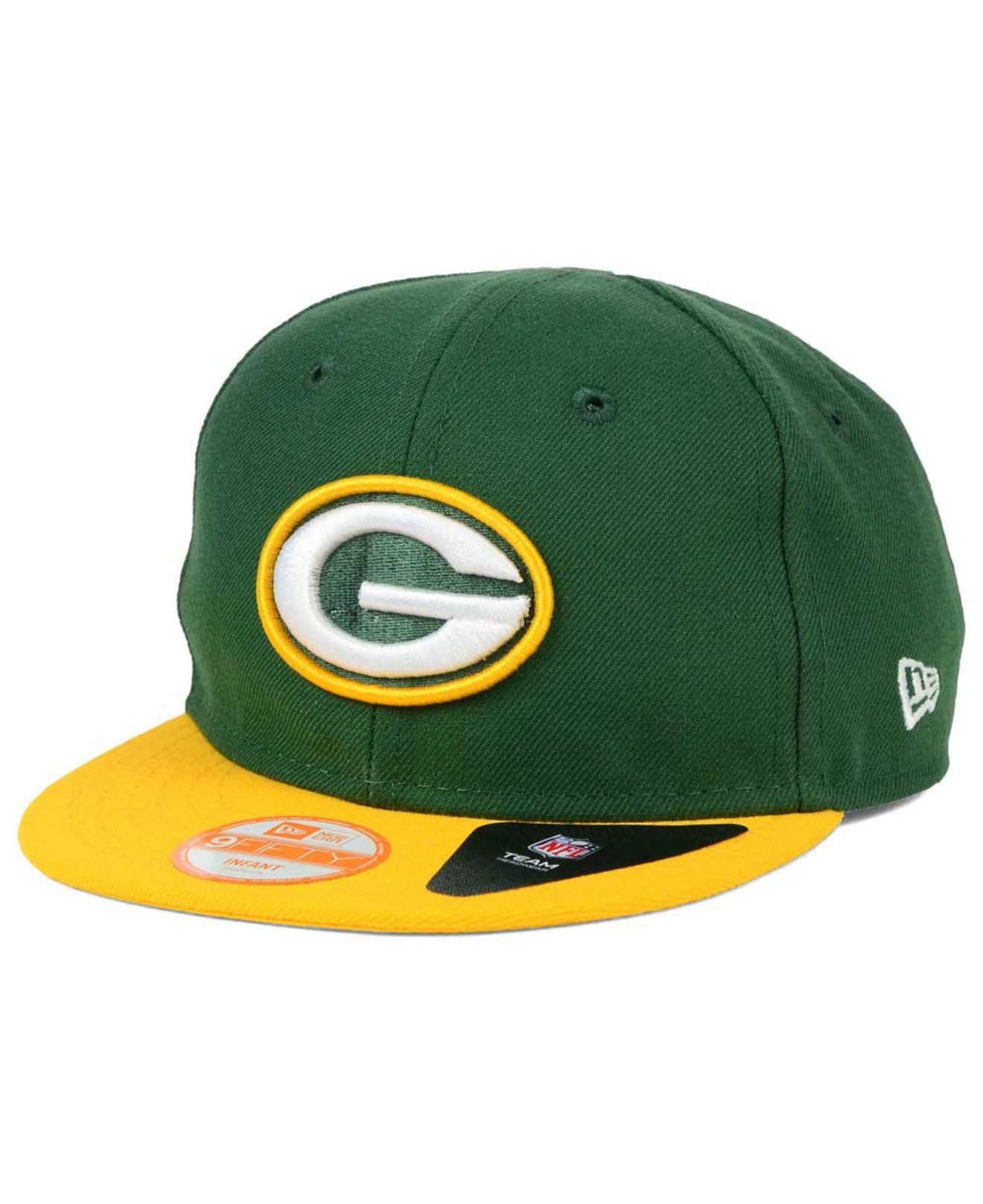 1ba008332 Lyst - KTZ Babies  Green Bay Packers My 1st 9fifty Snapback Cap in ...