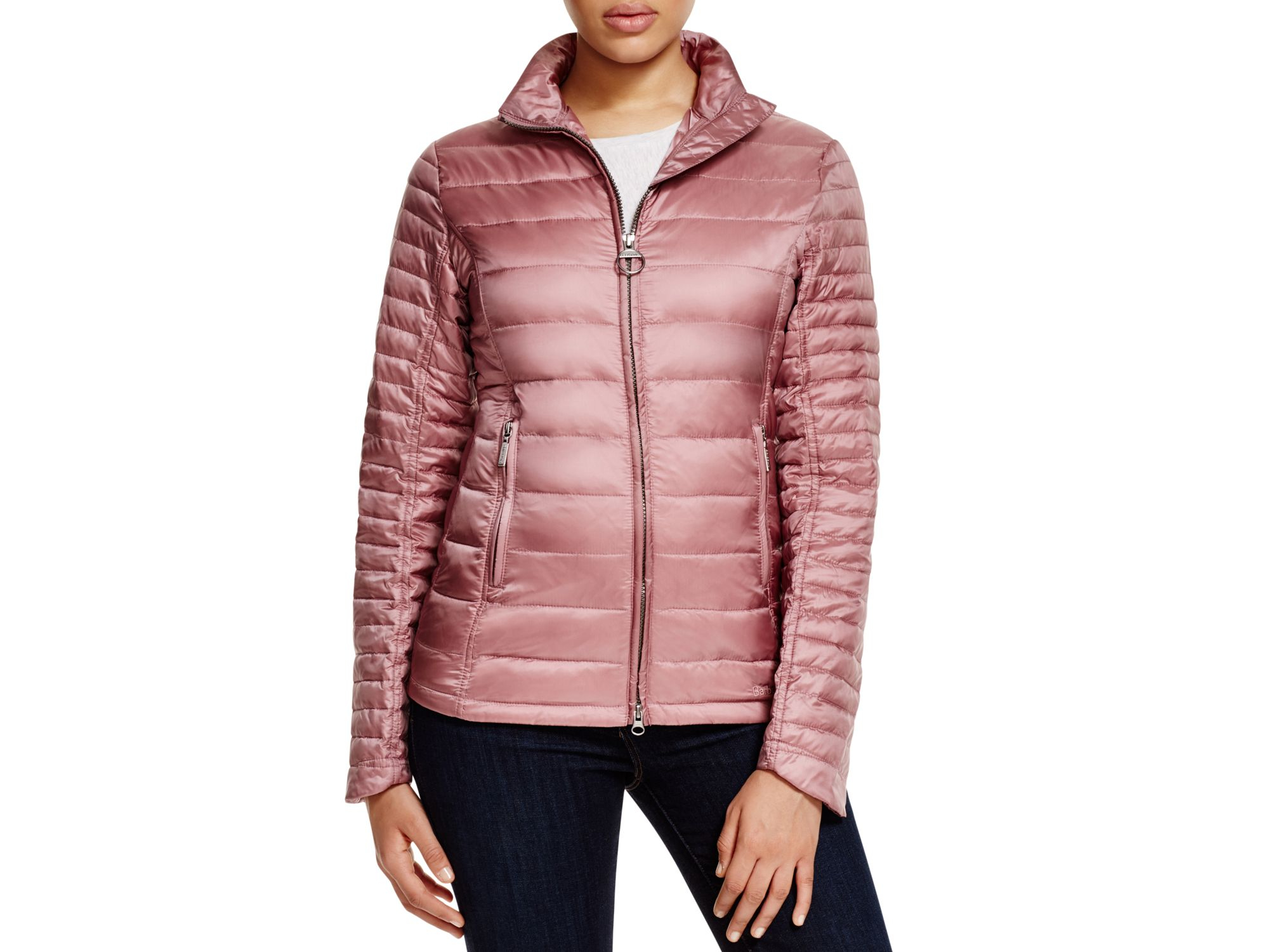 Barbour Pink Quilted Jacket - Quilting