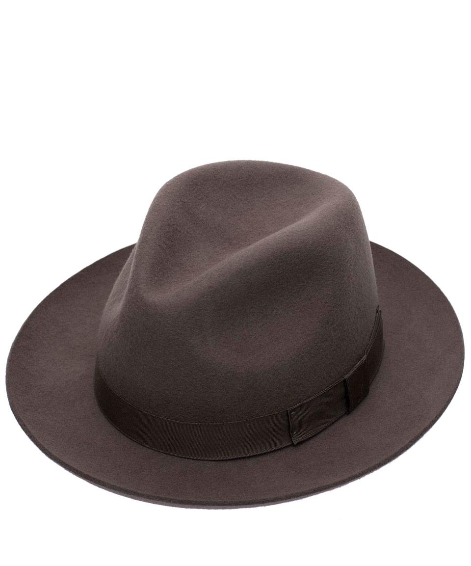 932a5143e27 Lyst - Christys  Grey Chepstow Wool Felt Hat in Gray for Men