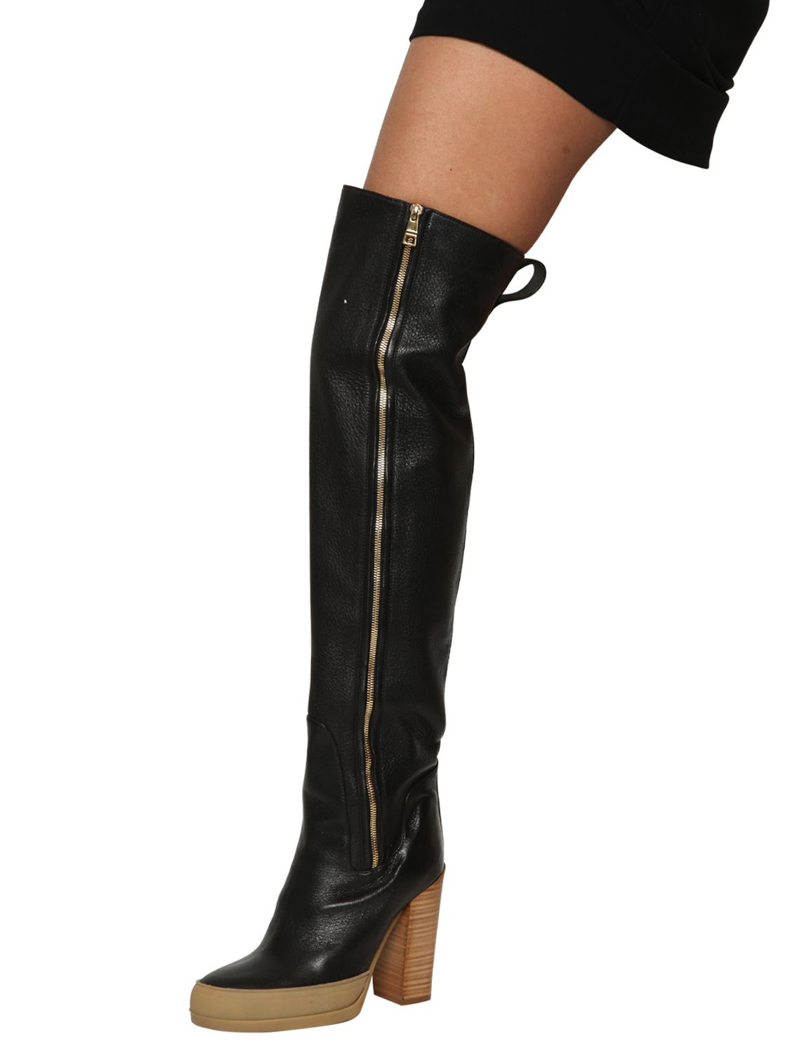 knee-high boots - Black Chlo Cheap Lowest Price eIdTIL