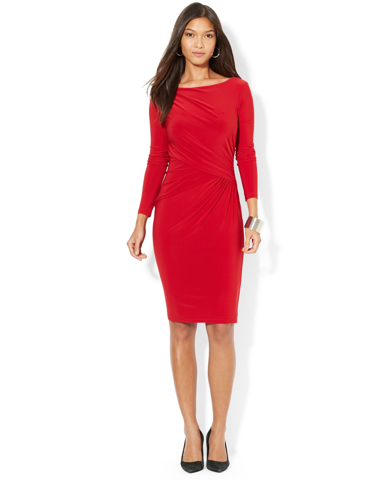 Ruched Jersey Dresses