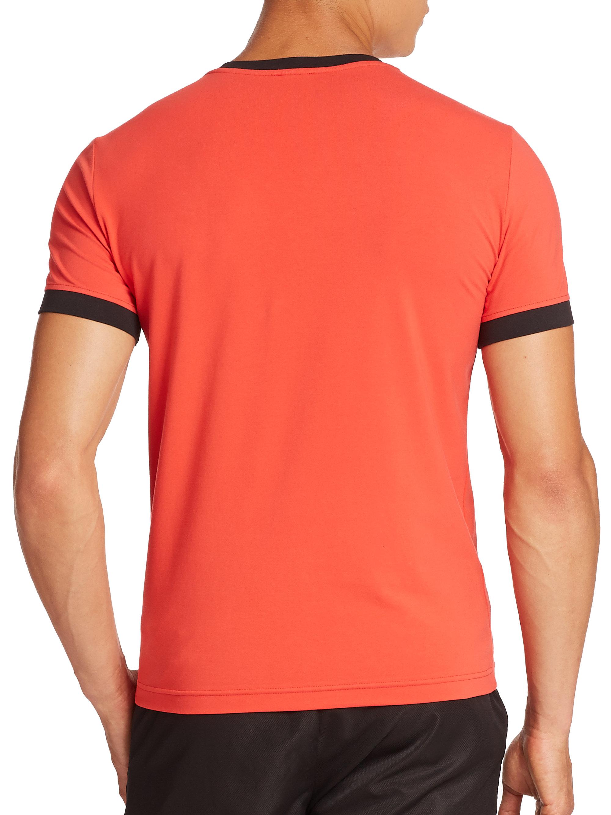 Clothes Ringer 2015 ~ Ea ringer logo tee in red for men lyst