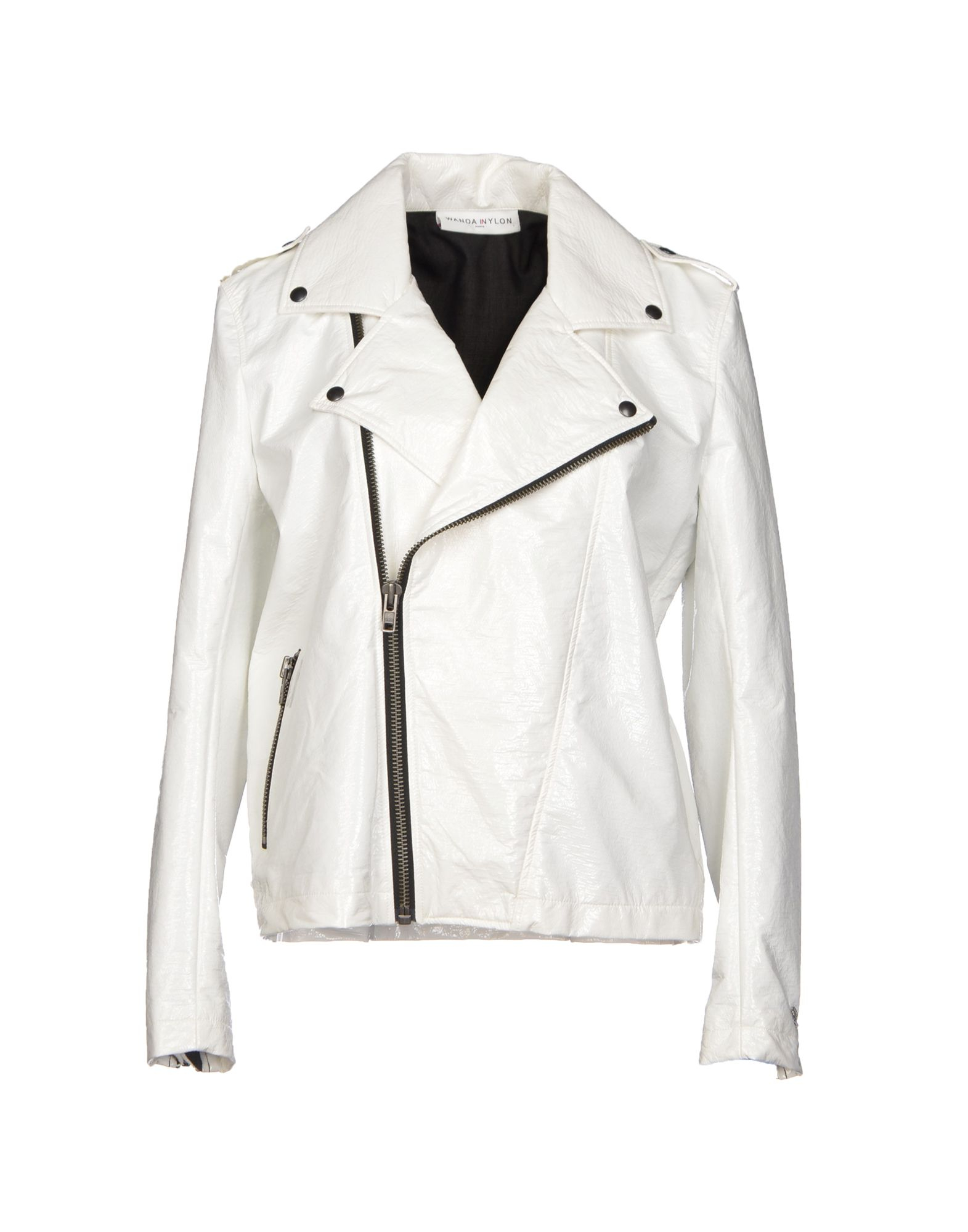 White Nylon Jackets 113