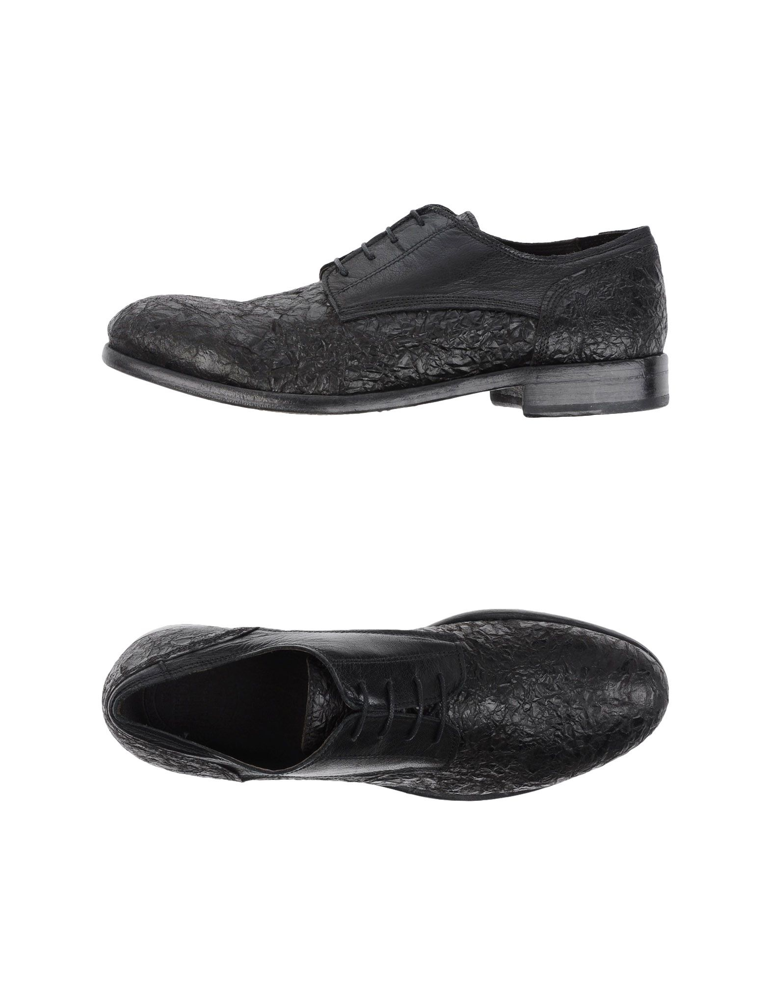 pawelk s lace up shoe in black for lyst