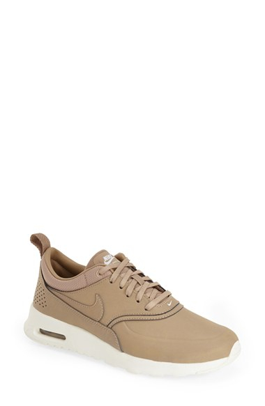 nike 39 air max thea 39 sneaker in beige desert camo lyst. Black Bedroom Furniture Sets. Home Design Ideas