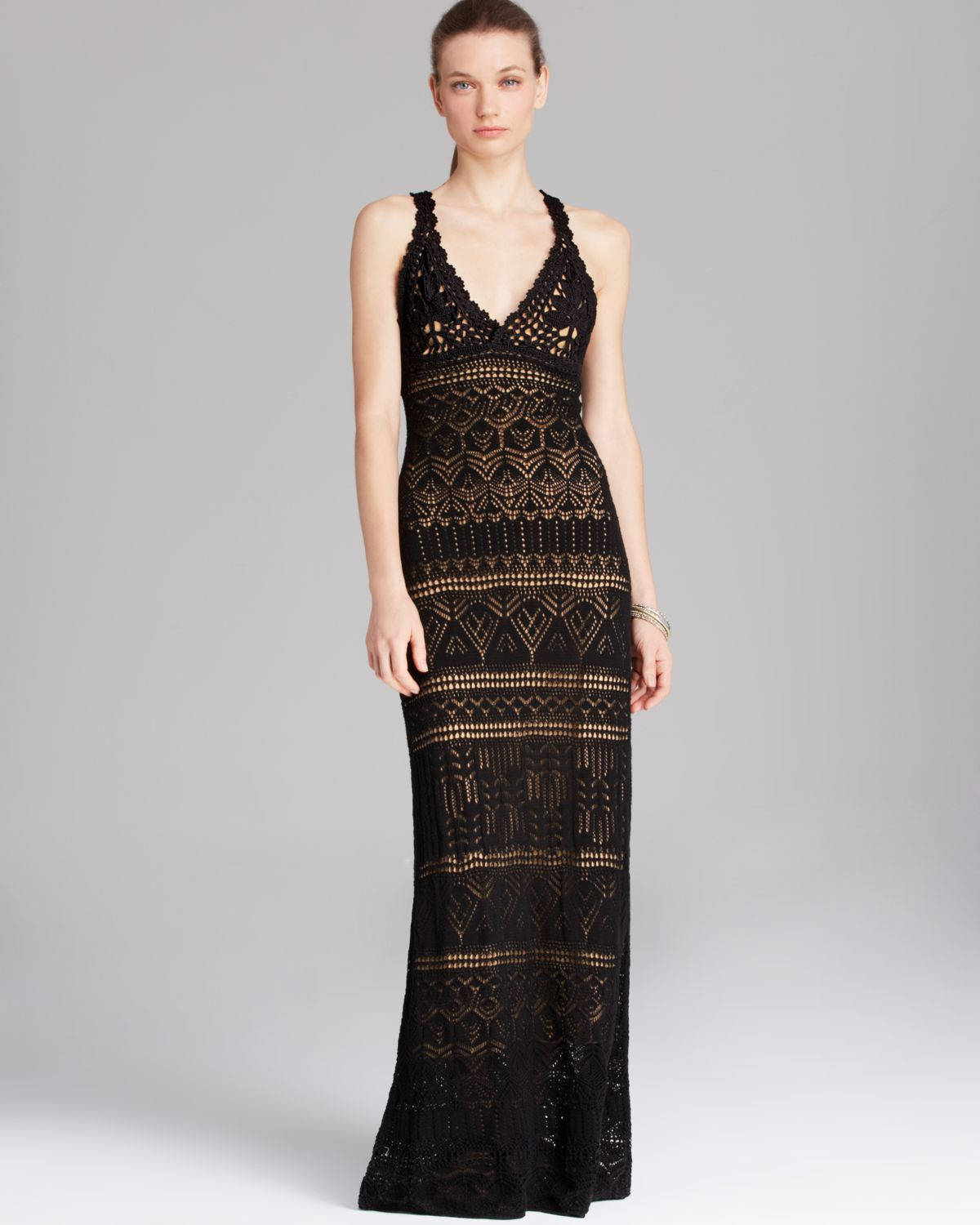 Crochet Maxi Dress : vince-camuto-black-crochet-maxi-dress-maxi-dresses-product-1-20588066 ...