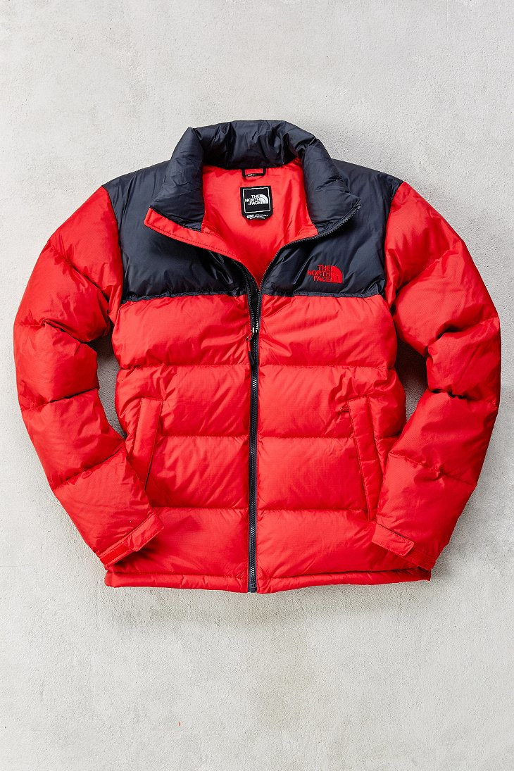 ... purchase lyst the north face nuptse jacket in red for men b8824 45917 f8b3bcc61