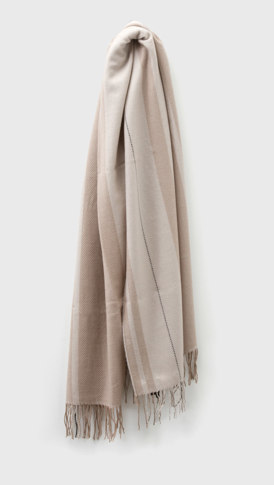 rag bone wrap stripe scarf in lyst