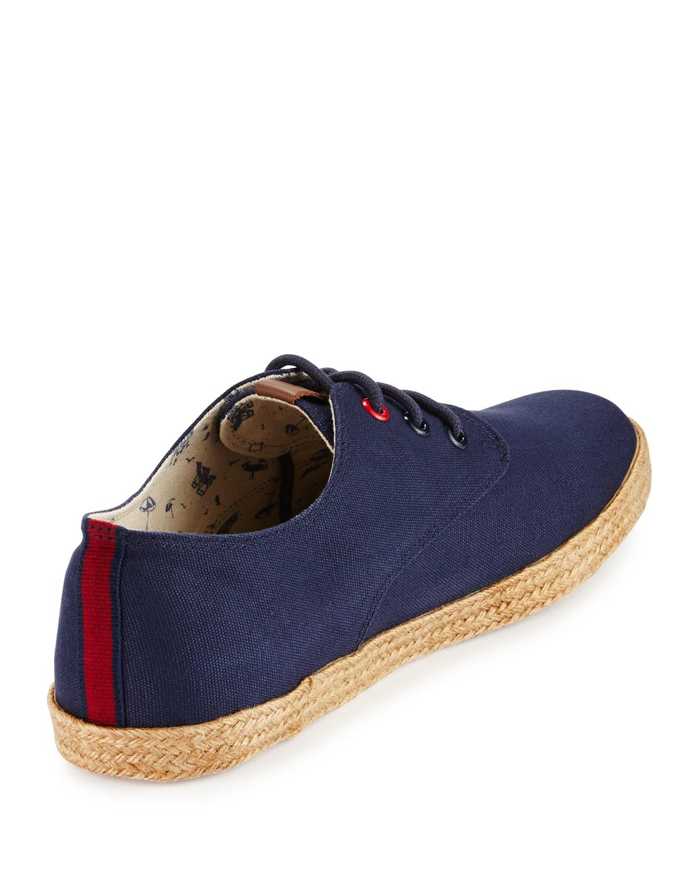 Ben Sherman New Jenson Lace-Up Espadrille Sneaker VSvDHT