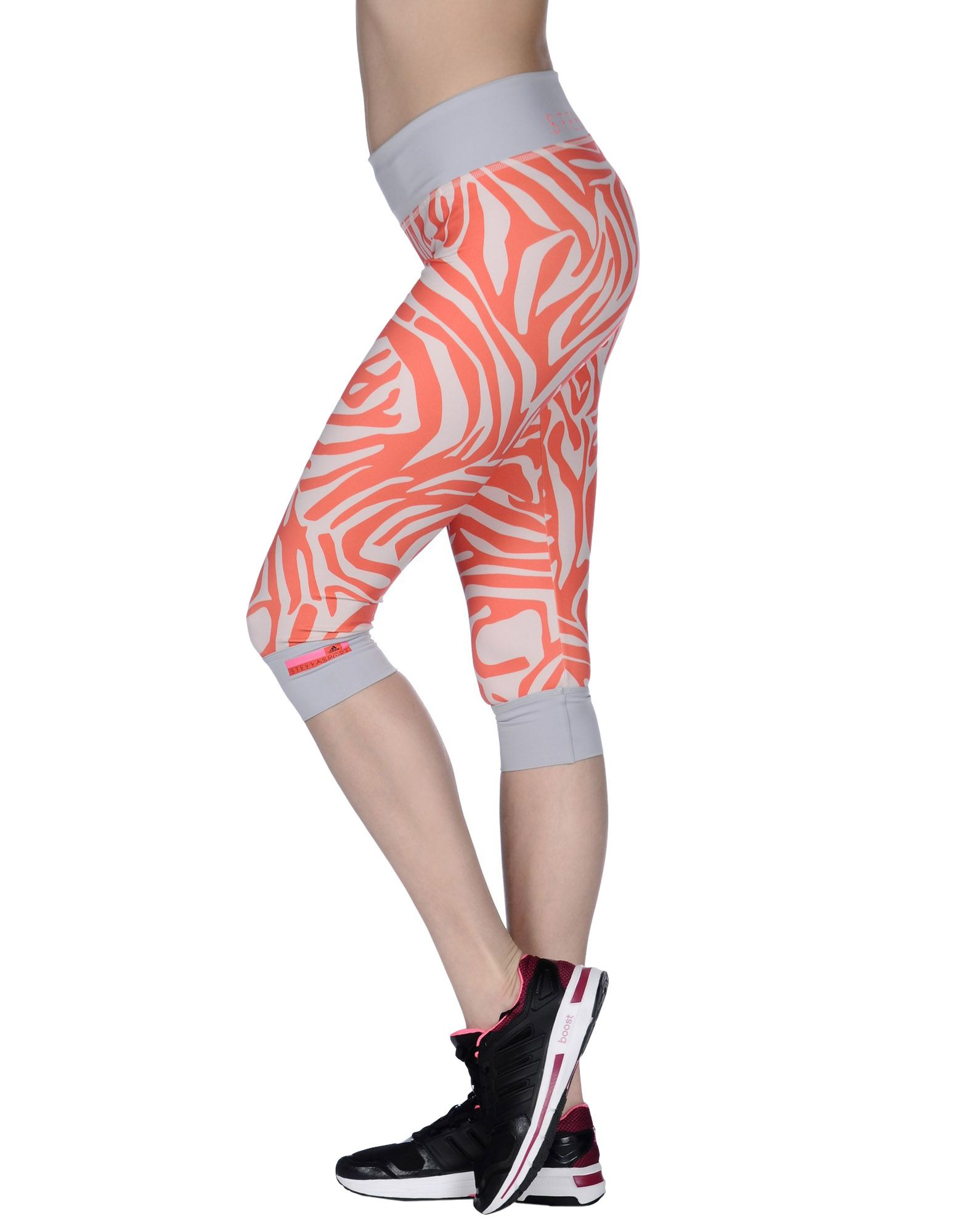 adidas by stella mccartney leggings in pink lyst. Black Bedroom Furniture Sets. Home Design Ideas