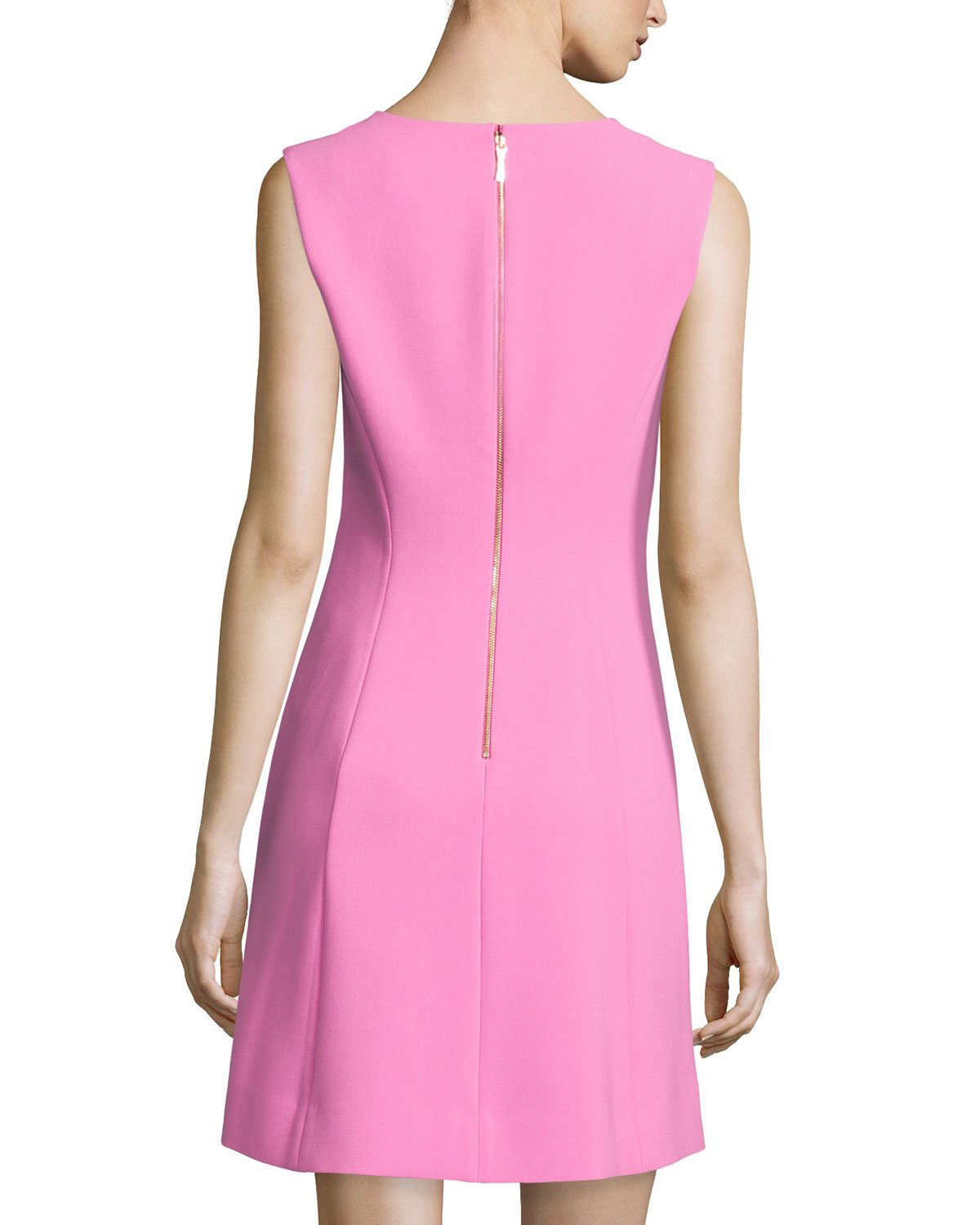Kate Spade Sleeveless A Line Dress In Pink Lyst