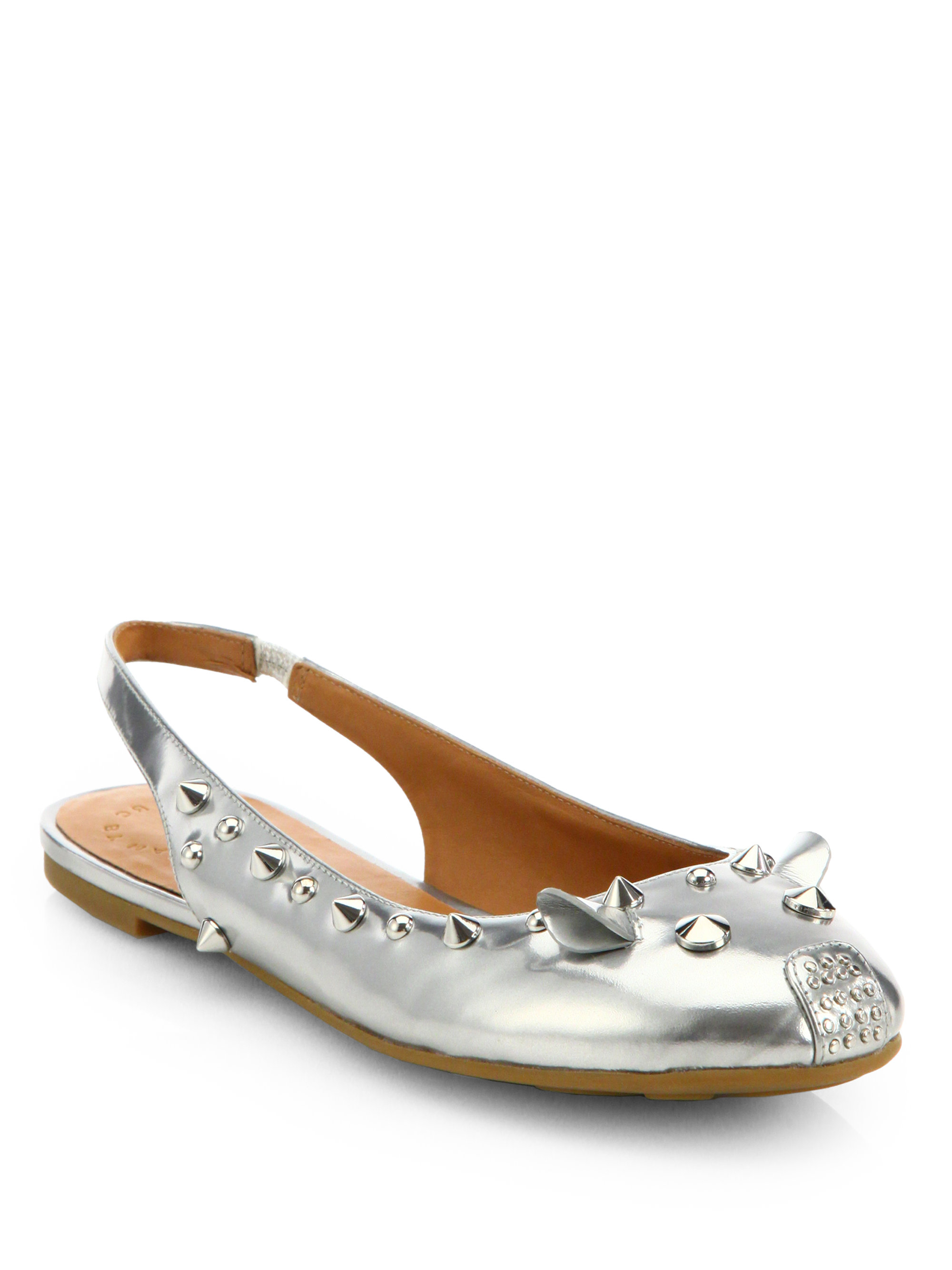 sale discounts sale extremely Marc Jacobs Metallic Slingback Sandals shopping online cheap online 51ESV