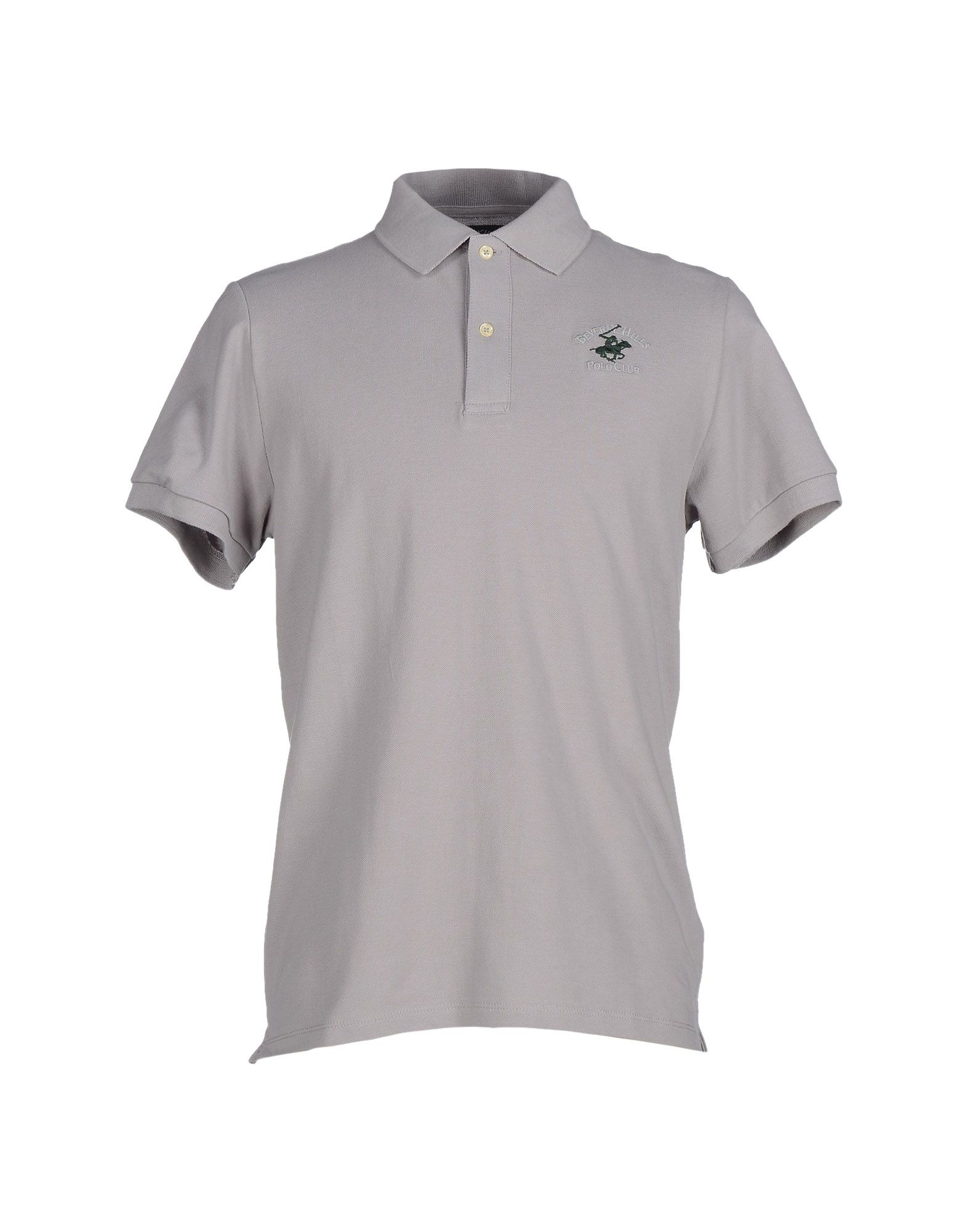 Beverly Hills Polo Club Polo Shirt In Gray For Men Light