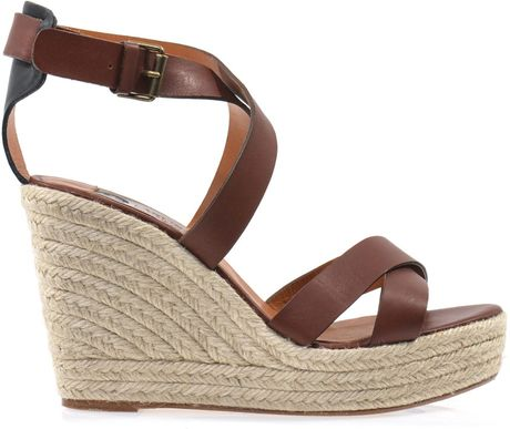 Gold wedge sandals pictures
