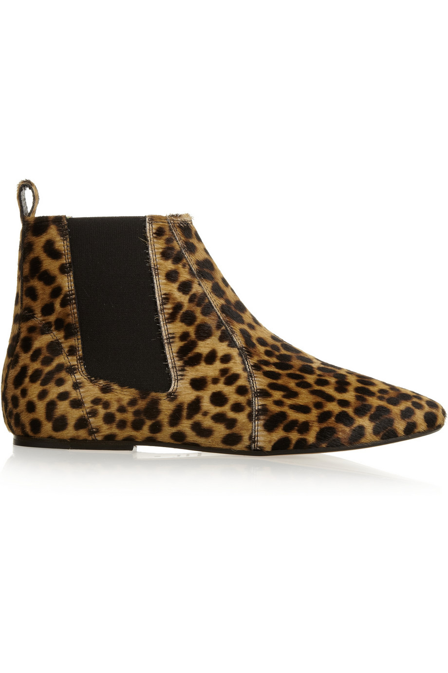 Isabel Marant 201 Toile Dewar Leopardprint Calf Hair Ankle