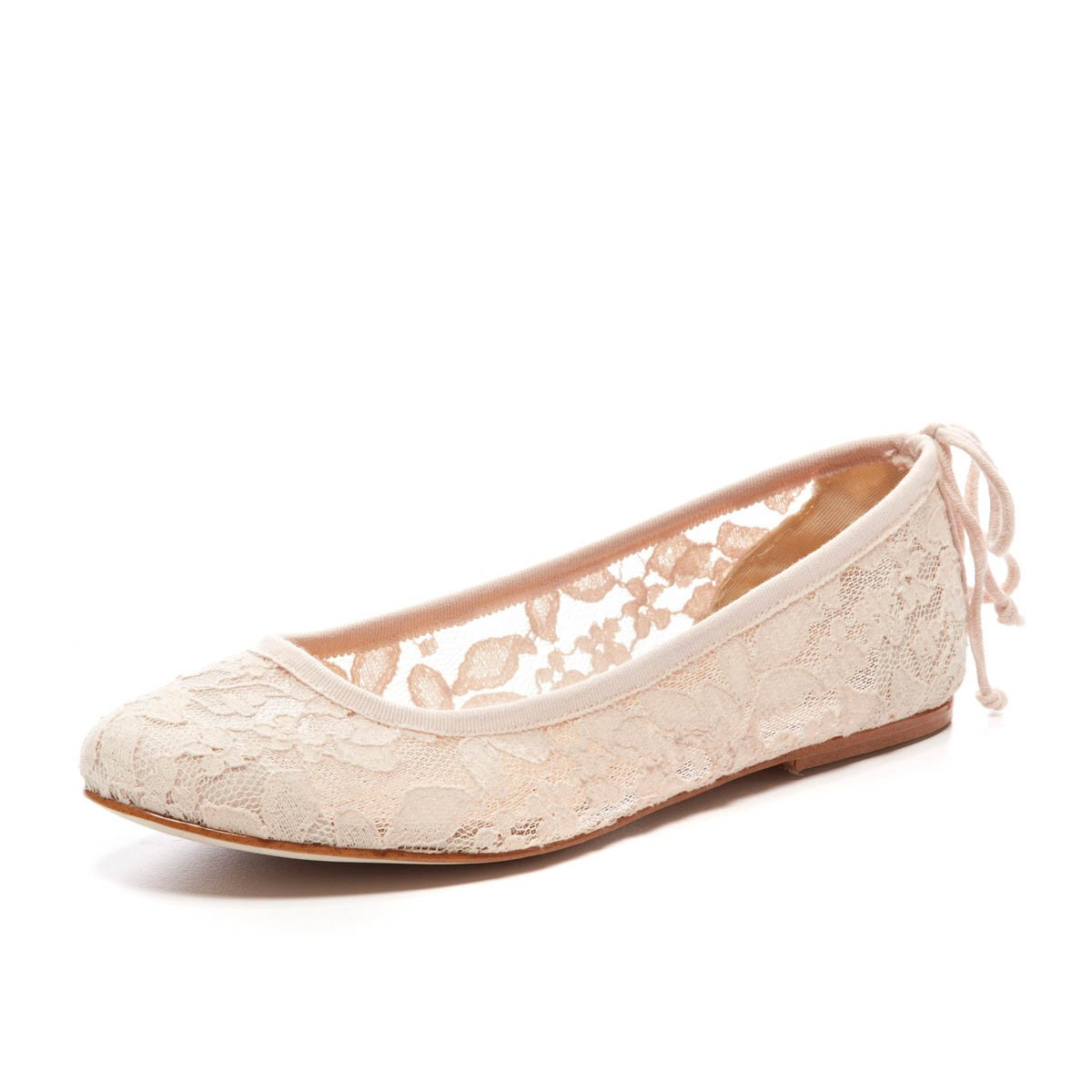 Wedding Table Lace Ballet Flats soludos chantilly lace ballet flats in pink lyst gallery womens up flats