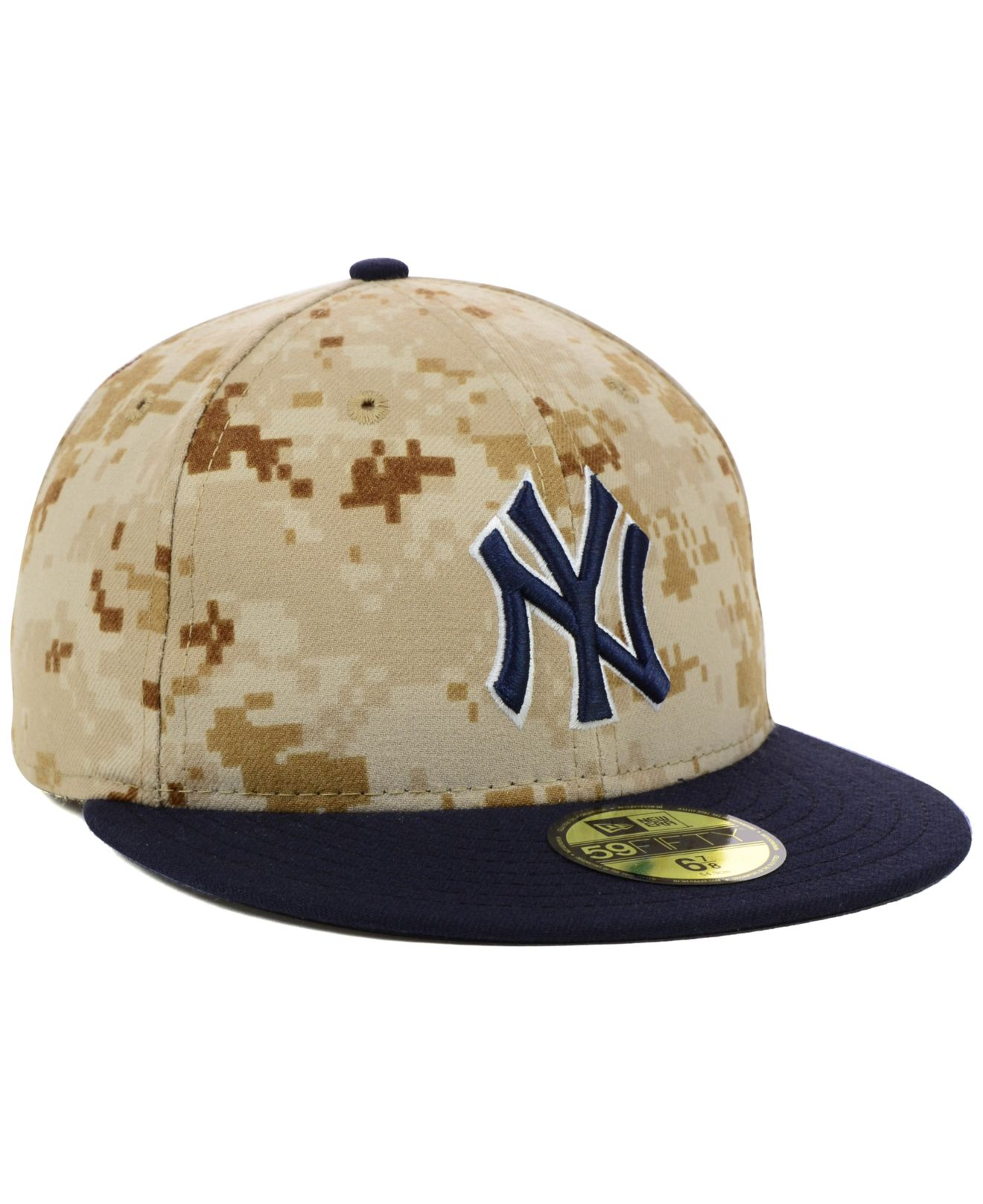 1bccb4c1114 Lyst - KTZ New York Yankees 2014 Stars And Stripes 59fifty Cap in ...