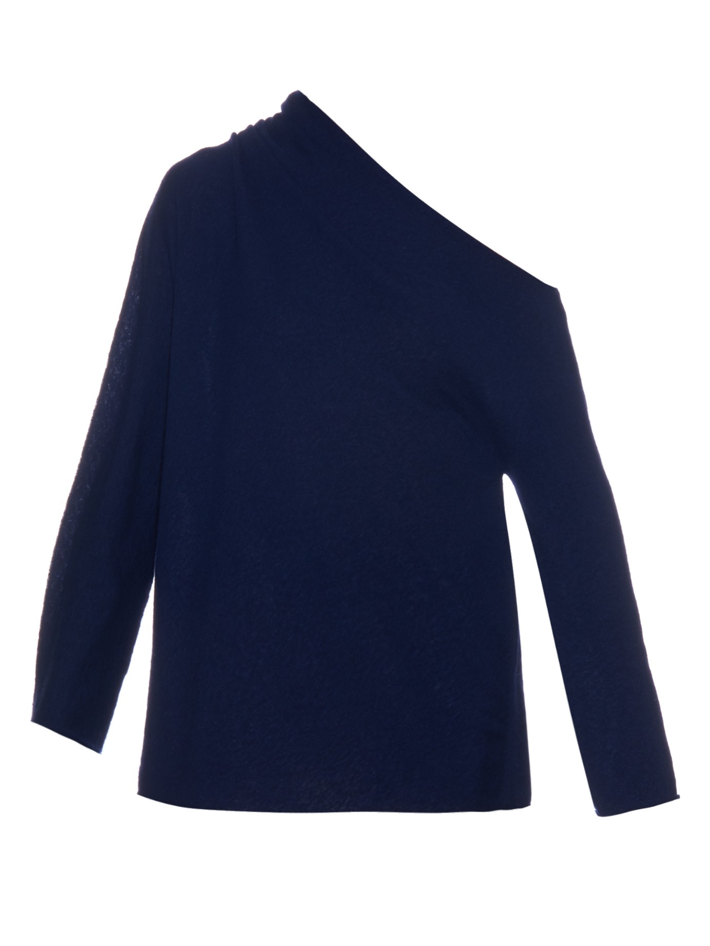 The row Nanda Off-the-shoulder Sweater in Blue | Lyst