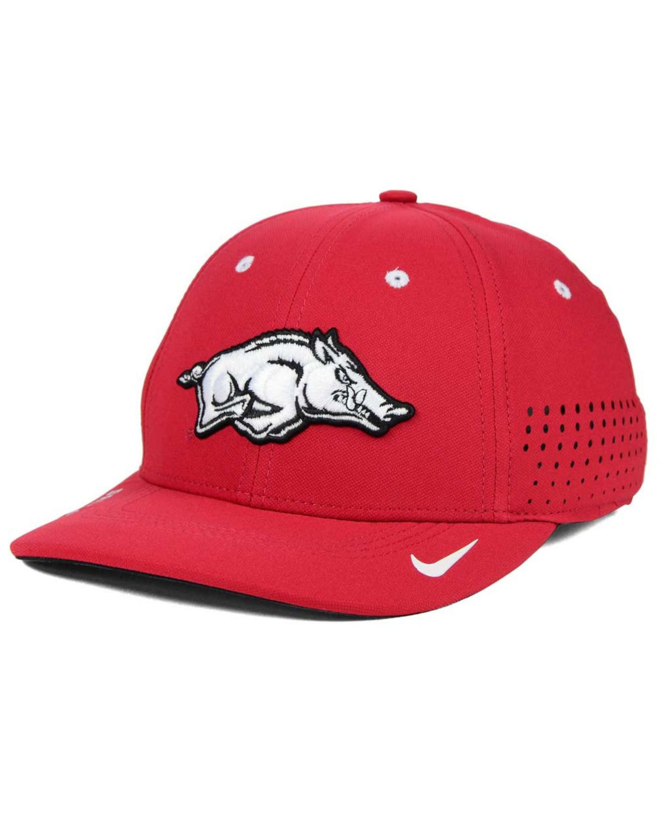 Lyst - Nike Arkansas Razorbacks Sideline Cap in Red for Men 47c1dfe3aeb3