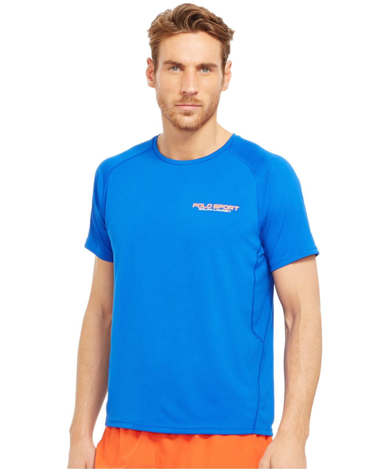 Lyst polo ralph lauren polo sport micro dot jersey t for Ralph lauren polo jersey shirt