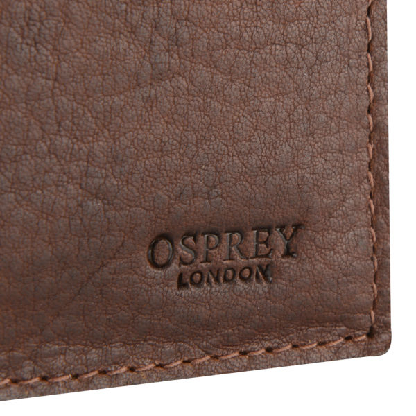 Osprey London Conker Large Leather Coin Wallet