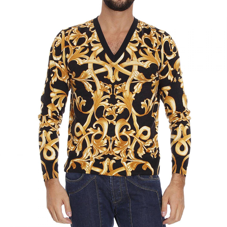 versace men sweaters