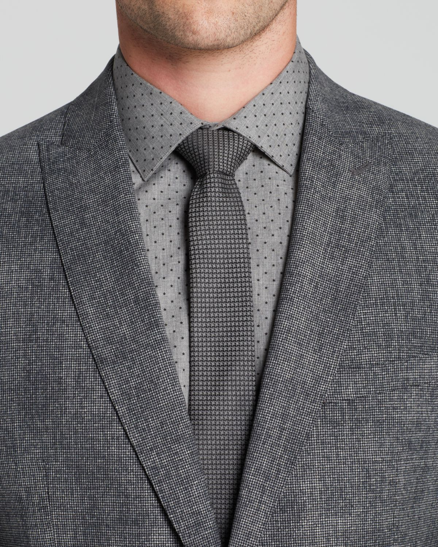 John varvatos Austin Crosshatch Sport Coat in Gray for Men | Lyst
