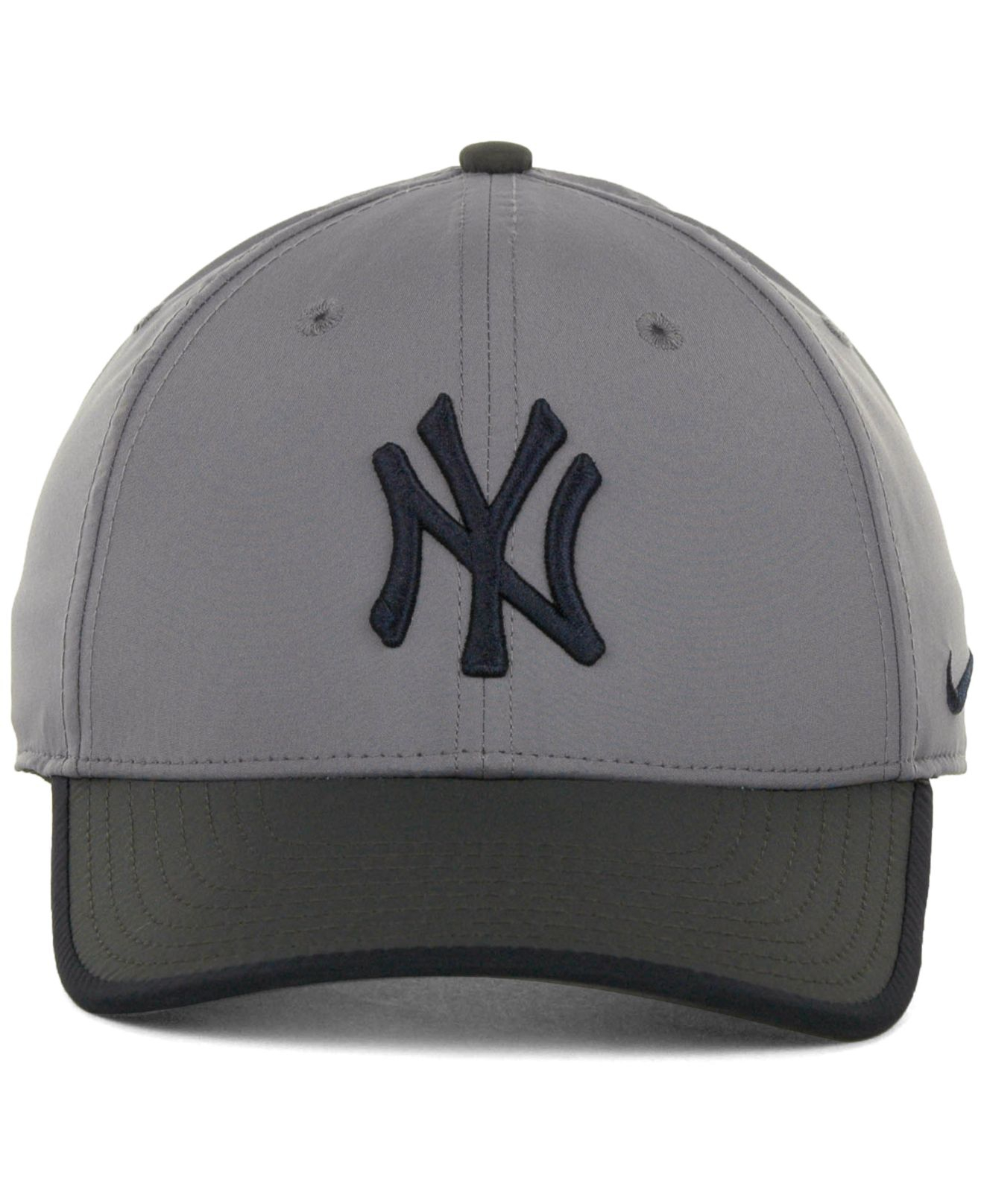 Lyst - Nike New York Yankees L91 Featherlight Adjustable Cap in Gray ... 8739a5a26bcf