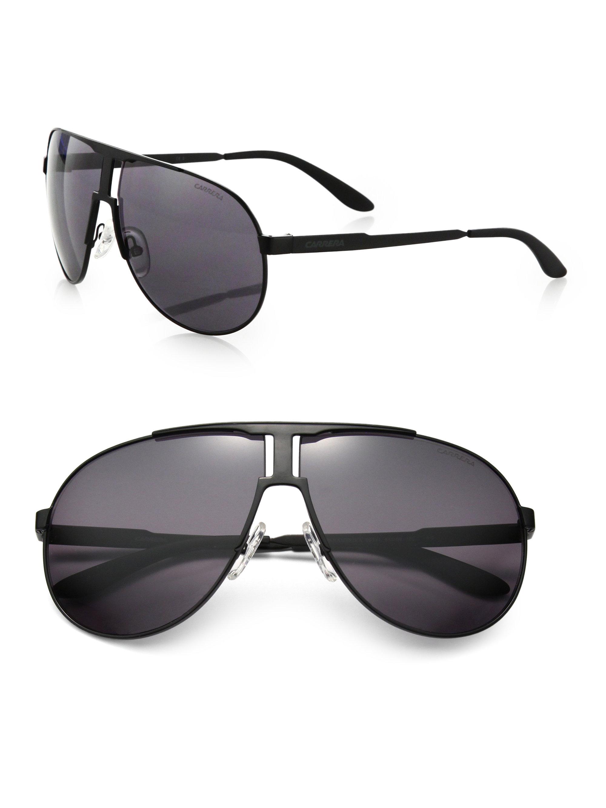 4e8f4af00ba8 Lyst - Carrera New Panamer 64Mm Aviator Sunglasses in Black for Men