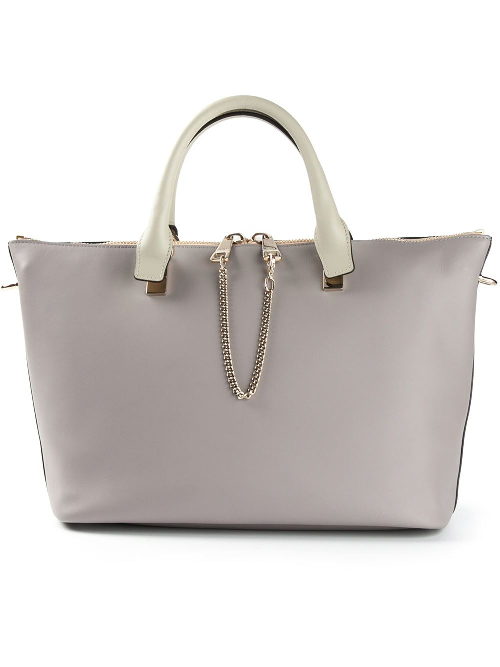 Chlo�� Large Baylee Tote in Gray (grey) | Lyst