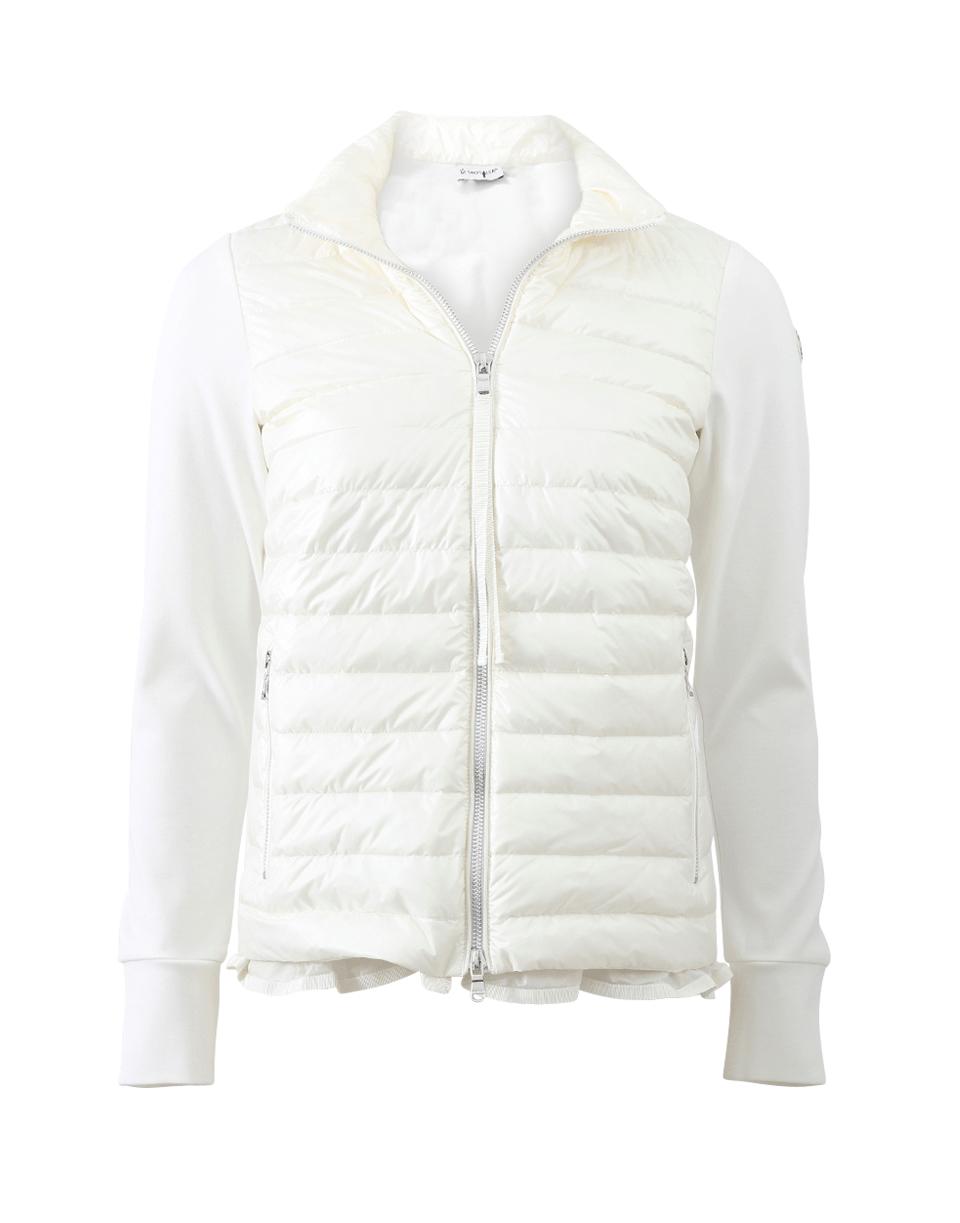 moncler white knit