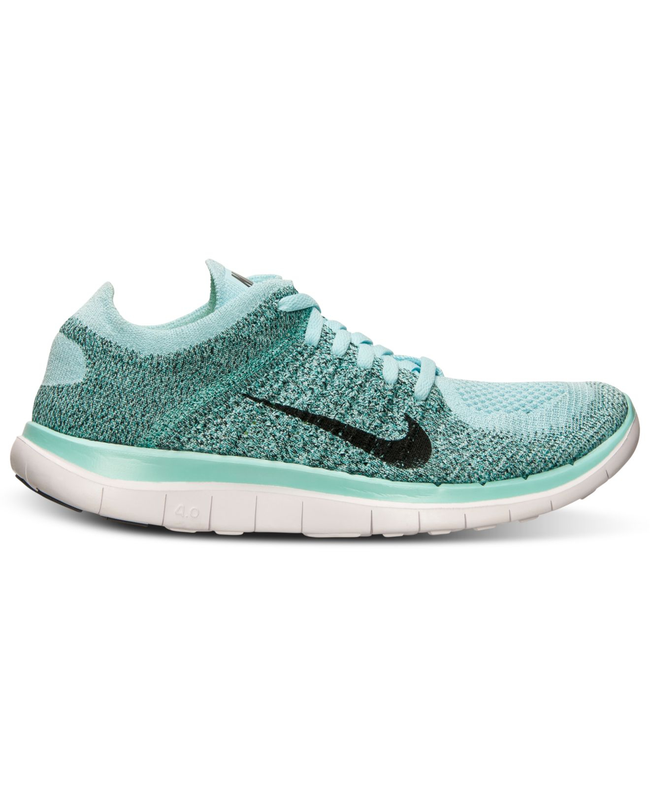 4570dc449cad ... discount code for lyst nike womens free flyknit 4.0 running sneakers  from finish 520df fd3ff