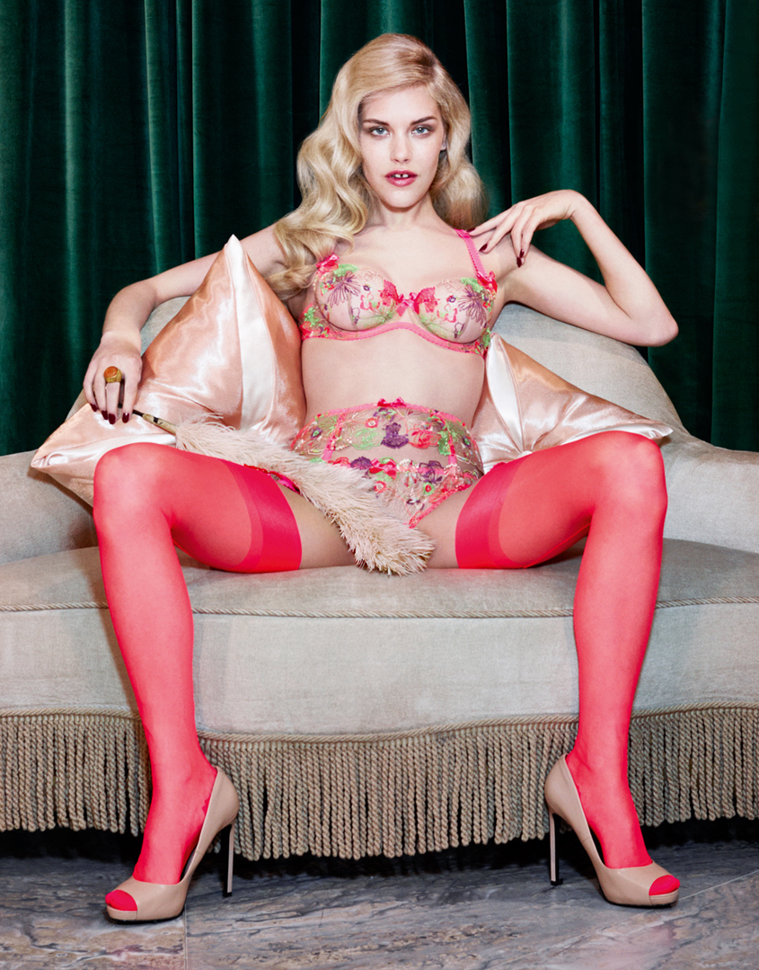 7272942b00 Lyst - Agent Provocateur Zuri Thong in Pink